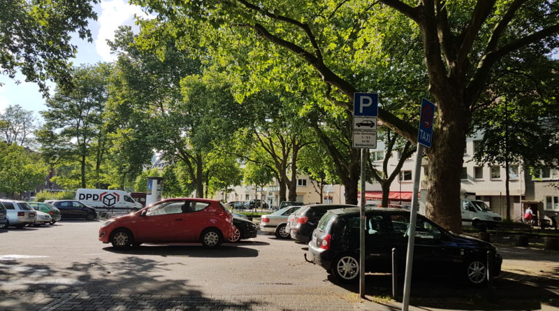 Parkplatzsituation in Humboldt – Gremberg
