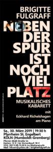 Kabarett mit Brigitte Fulgraff @ Kirche St. Engelbert | Köln | Nordrhein-Westfalen | Deutschland